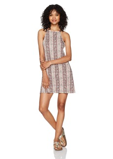 Billabong Women's Sing Along Printed Knit Dress  M