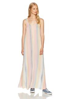 Billabong Women's Sky High Woven Printed Maxi Dress  M