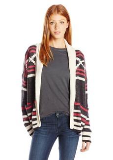 Billabong Junior's Slopeside Chunky Cardigan Sweater  M