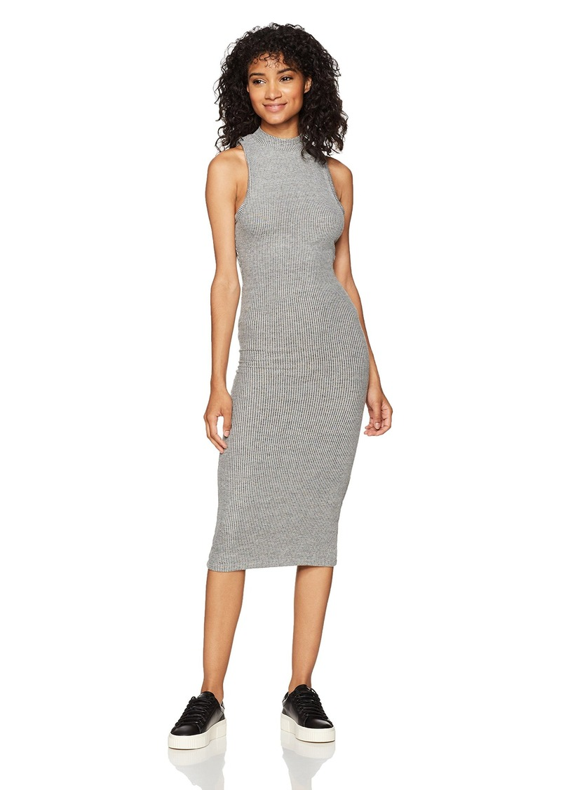 Billabong Women's So Soon Knit Body Con Midi Dress  M