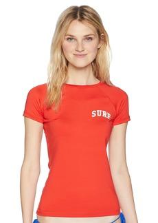 Billabong Women's Sol Searcher Short Sleeve Rashguard  S