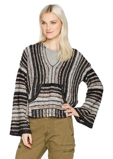 Billabong Women's Striped Baja Beach Sweater  S