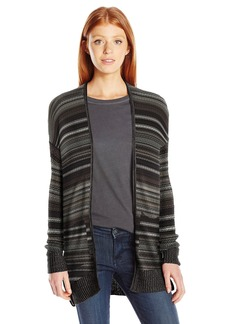 Billabong Junior's Stripes Over You Sweater Cardigan  M