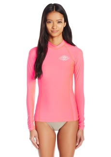Billabong Women's Surf DayZ Pf Long Sleeve Rashguard  S