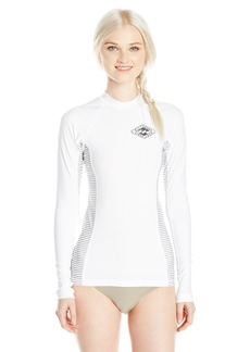 Billabong Women's Surf DayZ Pf Colorblock Long Sleeve Rashguard  L