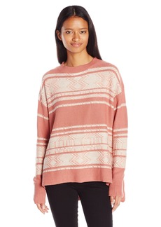 Billabong Junior's Tidal Mirage High Low Hem Sweater  S