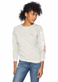 Billabong Women's Two Tone Logo Sweatshirt  M