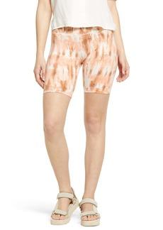 Billabong Women's Ur a Dream Tie Dye Bike Shorts