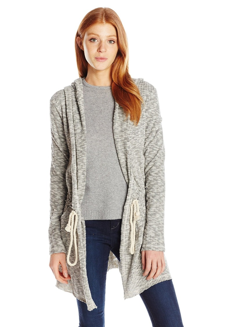 Billabong Billabong Women's Way Side Hooded Fleece Cardigan ...