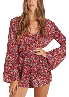 Billabong Worlds Collide Print Romper
