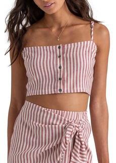 Billabong x Sincerely Jules Straight to It Crop Top