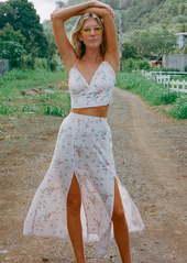 Billabong x The Salty Blonde Peachy Keen Maxi Skirt