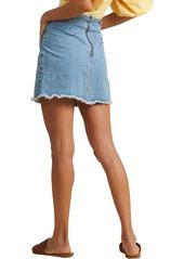 Billabong x The Salty Blonde Tied Up Denim Skirt (Aloha)