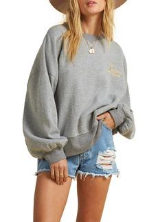 Billabong x The Salty Blonde Vacation Mode Relaxed Sweatshirt
