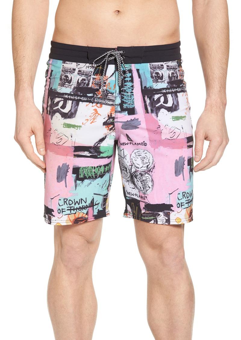 06e1ec88e7 Billabong Billabong x Warhol Factory X Board Shorts Now $34.96