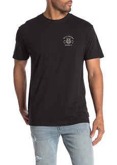 Billabong Boar Hawaii Brand Logo Graphic T-Shirt