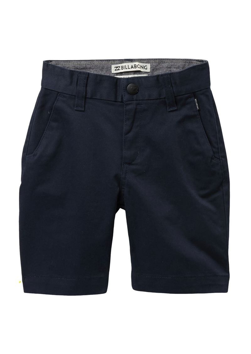 Billabong Carter Cotton Twill Shorts (Toddler & Little Boys)