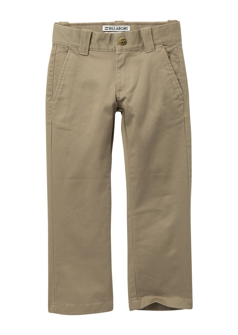 Billabong Carter Stretch Chino Pants (Toddler & Little Boys)