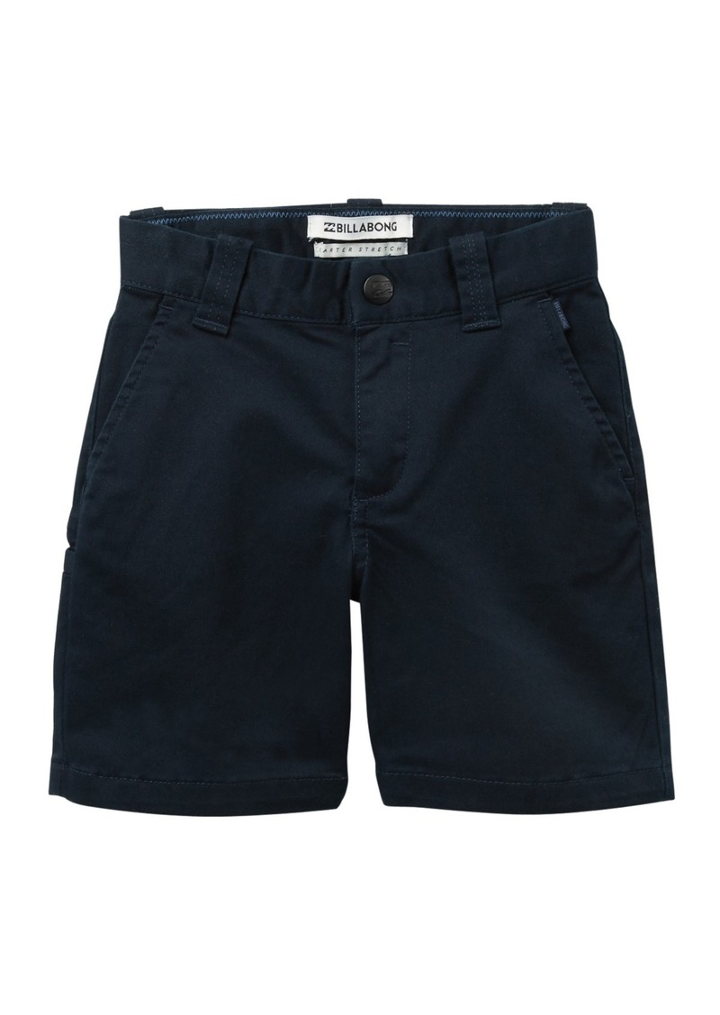 Billabong Carter Stretch Shorts (Toddler & Little Boys)