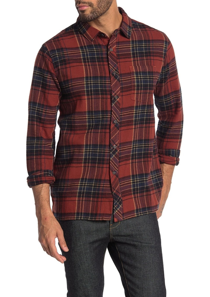 Billabong Coast Line Plaid Print Slim Fit Shirt
