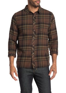 Billabong Coast Line Plaid Print Slim Fit Shirt
