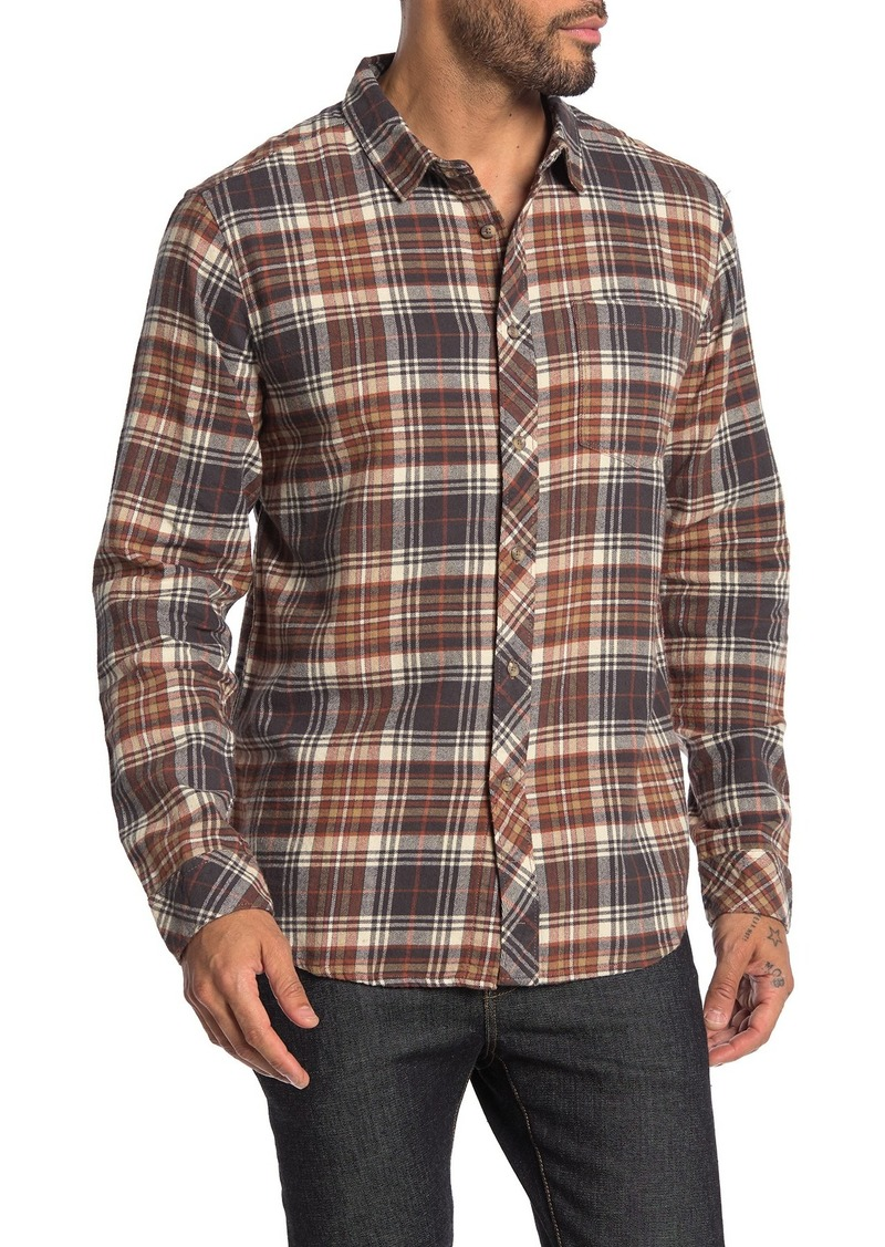 Billabong Coastline Plaid Flannel Slim Fit Shirt