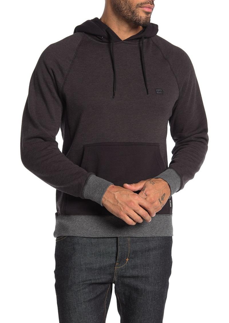 Billabong Colorblock Stripe Pullover Hoodie