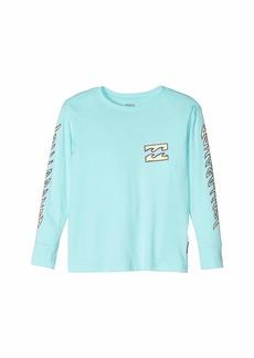 Billabong Fishbone Long Sleeve T-Shirt (Toddler/Little Kids)