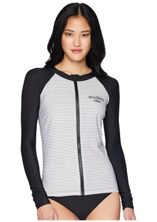 Billabong Front Zip Rashguard