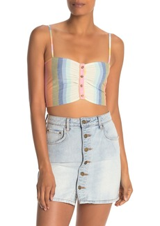 Billabong Let's Go Cropped Tank Top