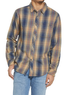 Men's Billabong Coastline Check Flannel Button-Up Shirt