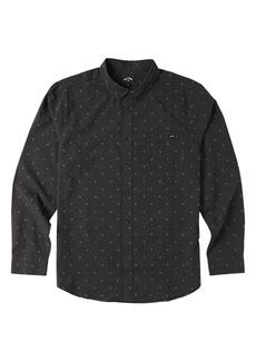 Men's Billabong Slim Fit Dot Button-Down Shirt