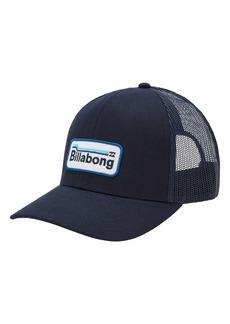 Men's Billabong Walled Trucker Hat - Blue