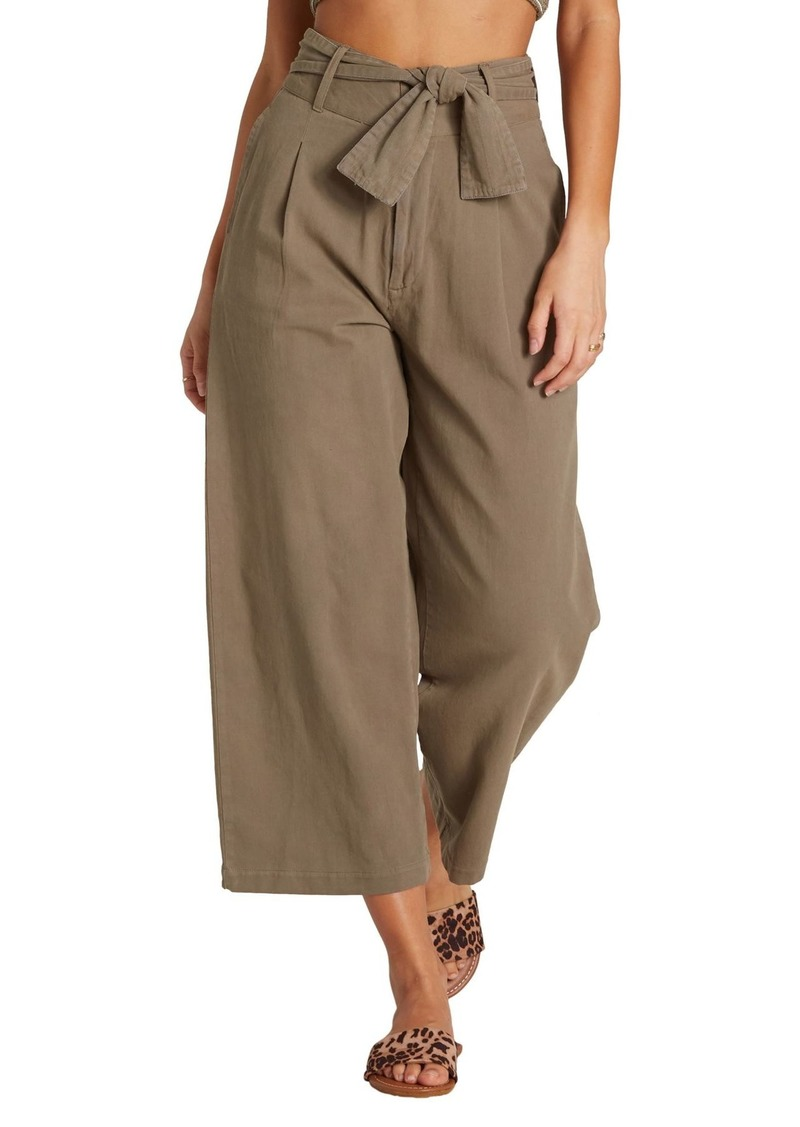 Billabong Now or Never Wide Leg Crop Pants