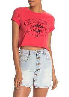 Billabong Raw Edge Cropped T-Shirt