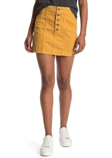 Billabong Seams Like Corduroy Mini Skirt