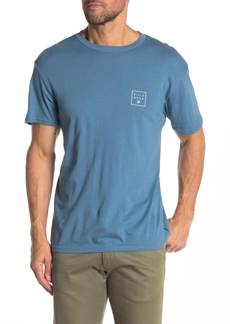 Billabong Stacked Brand Logo T-Shirt