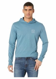 Billabong Stacked Long Sleeve Hooded Shirt