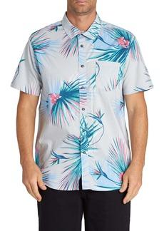 Billabong Sundays Floral Short Sleeve Button-Up Shirt