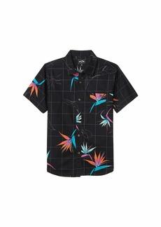 Billabong Sundays Floral Short Sleeve Shirt (Big Kids) 1