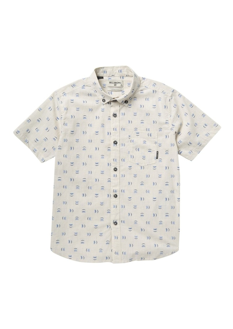 Billabong Sundays Mini Short Sleeve Shirt (Big Boys)