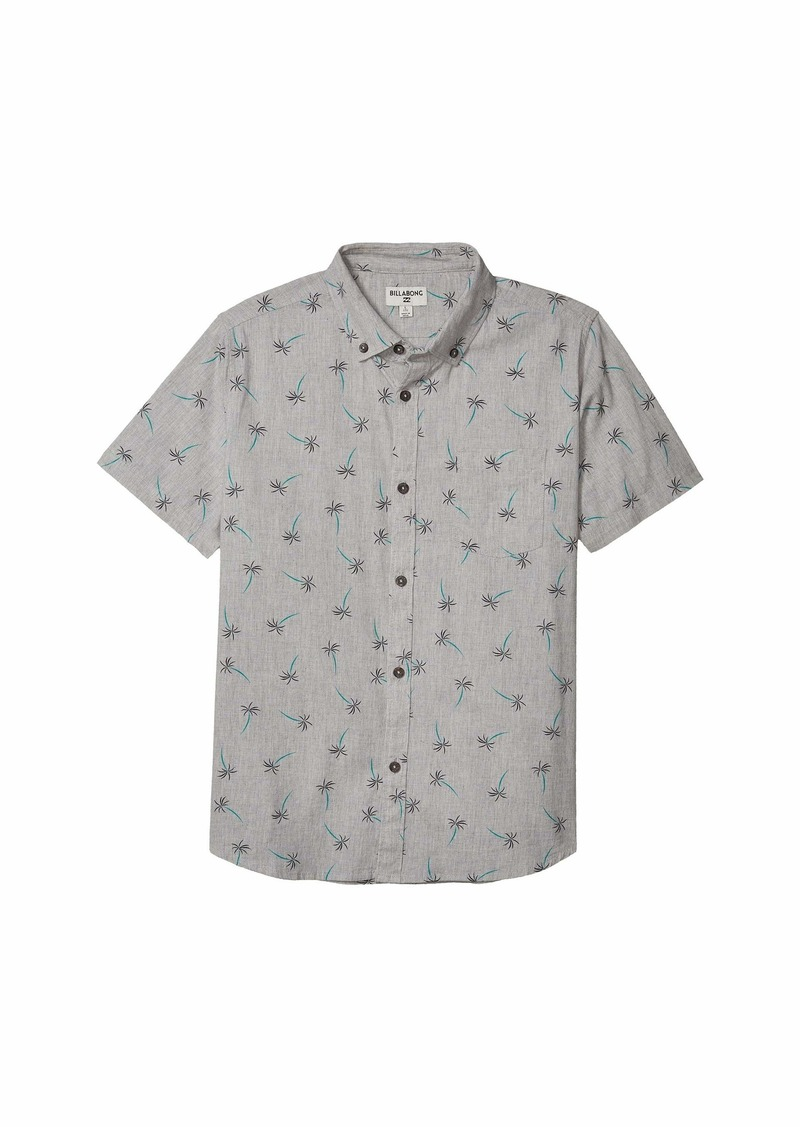 Billabong Sundays Mini Short Sleeve Woven (Big Kids)