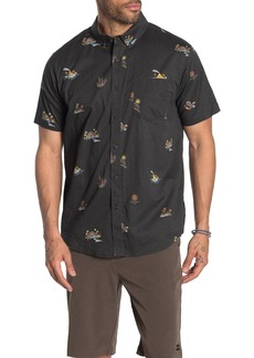 Billabong Sundays Print Short Sleeve Standard Fit Shirt