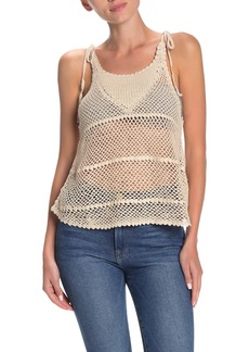 Billabong Vacay Nights Crochet Tank Top