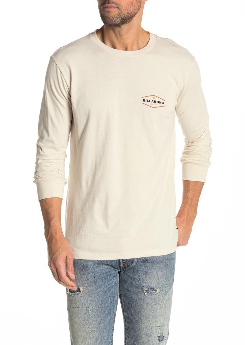 Billabong Vista Brand Logo Long Sleeve T-Shirt
