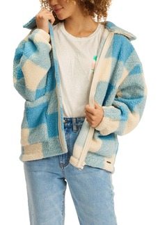 Women's Billabong Long Road Faux Fur Jacket