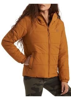Women's Billabong Transport Hooded Water Repellent Puffer Jacket