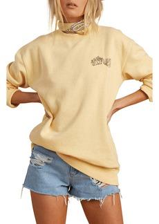 Women's Billabong X The Salty Blonde After Sunset Graphic Sweatshirt