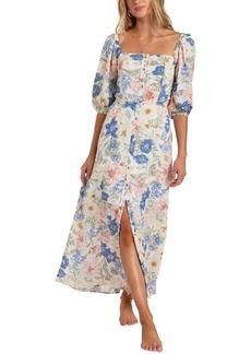 Billabong Women's Dreamer Puff Sleeve Dress