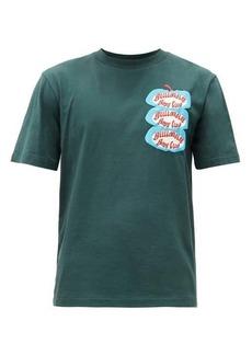 Billionaire Boys Club Apple logo-print cotton-jersey T-shirt